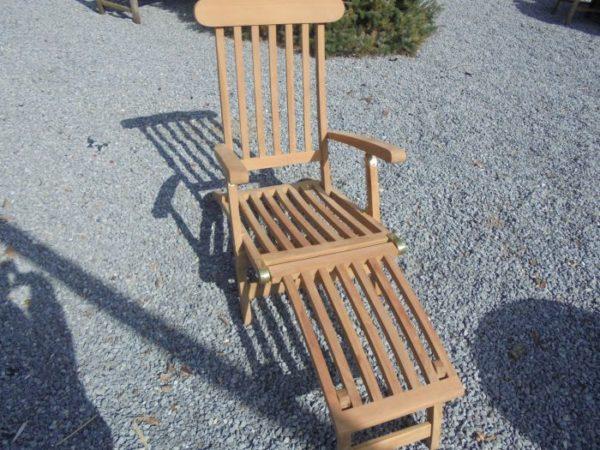 Teak Deckchair Classic Ligbed