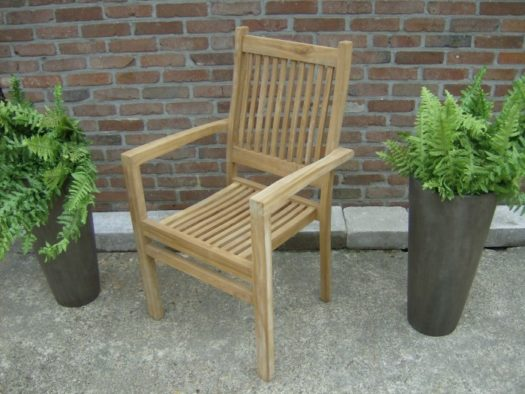 Teak Stapelstoel New Netty