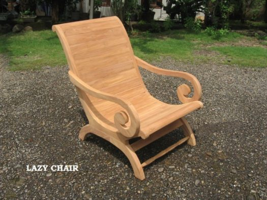 Teak Lazy Chair Onngo